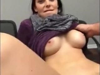 Naughty amateur MILF gets amazing creampie from young boy