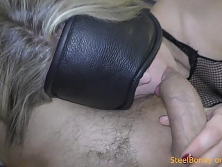 Sexy MILF blowjob me blindfolded (part 1/5)