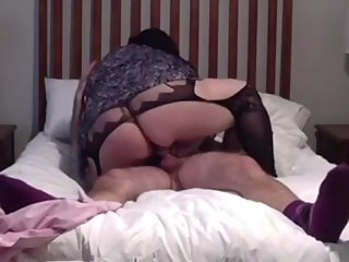 Cheating Girlfriend Rides Stranger Till He Cums