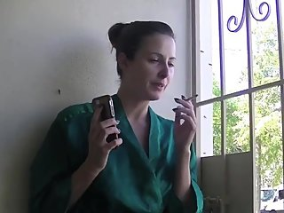 Helena Price - Do you have a smoking fetish? Housewife smoke break.