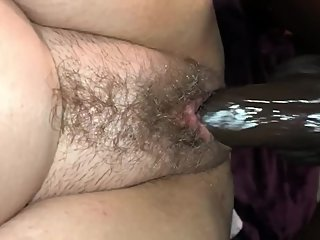 BBC makes hairy milf wet