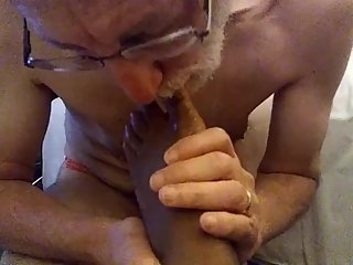 Older White CUCK Devouring BUSTY Supreme QUEEN Miss Taylor Juggs FEET