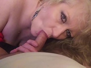 MY STEPDADS HOT NEW WIFE LOVES MY COCK