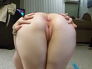 Amateur Milf Screams During First Anal