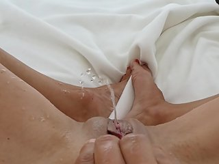 my first webcam masturbation with multi squirt orgasm