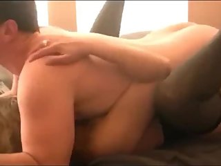 Shameless MILF gets rough fucked by her stepson with very big cock