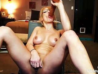 Tight Milf pussy ejects rubber cock in hardest orgasm ever! Chaturbate