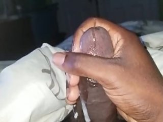 Stroking my BBC while talking dirty (Custom Vid)