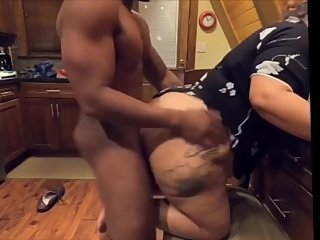 Big booty Latina milf fucked by BBC