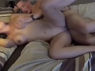 Taboo! Naughty stepmom gets hard fucked by her stepson on vacation