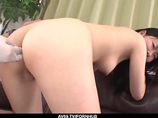Yuzuha Takeuchi is out casting for porn and fucking a l - More at 69avs com