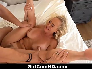 Lucky Poolboy Fucks Hot Busty Blonde Milf Brandi To Multiple Orgasms