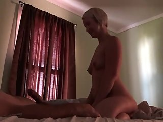 Sexy little slut wife cheating on her husband with me