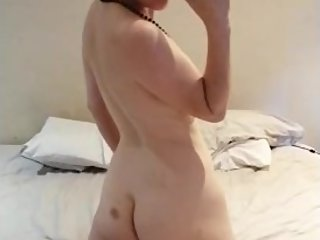 Smoking hot milf Lizzy... Fingerling her ass and showing her pussy for all!