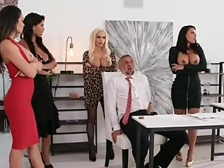 Brazzers - Office 4-Play