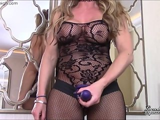 strapon blowjob training