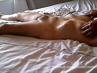 My friend, my wife, my bed pussy massage thick cock orgasm