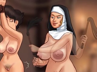 SUMMERTIME SAGA NUN BDSM- THE WHIP IS YOUR SAVIOUR- PART 168