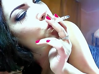 The legendary & almighty Alexxxya blowing incredibly hot smoke! Just wow!
