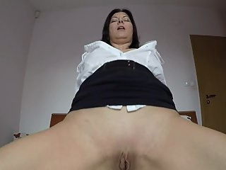 Teacher`s rewarding Cunt - POV