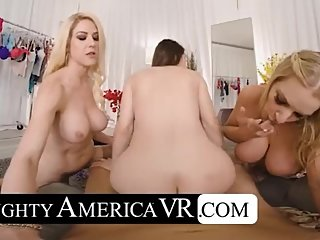 POV MILF Foursome With Kit Mercer, Rachael Cavalli & Bianca Burke
