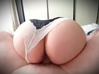 Step mom loud moaning orgasm being fucked by step son till cum inside