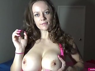 #38 Melody Radford Sexy BIG TIT Skilled MILF Gives Wanking Instructions