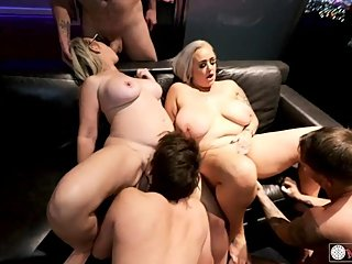 Vegas Penthouse Orgy with Thick MILFs