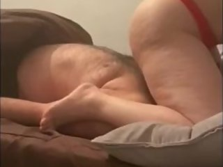 Step mom facesitting on step son cuming on mouth