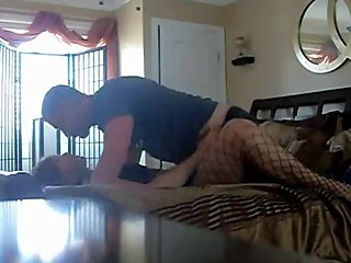 Horny Blonde Teen Sucking Older Dick & Fucked In The Ass By Neighbor