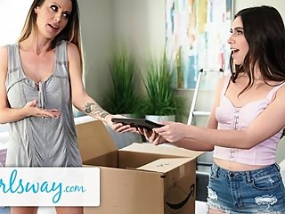 GIRLSWAY Fresh Teen Makes Pass at Widowed Cougar