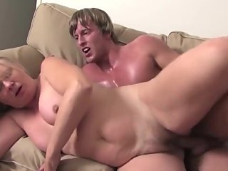private event with busty matures and lucky boy