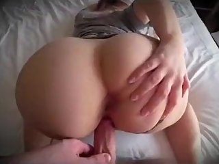 Step mom with booty twerking and fuck step son till he cums inside