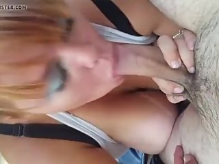 Public blowjob busty amateur norwegian milf from sexnorge.eu