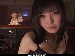 Japanese lingerie porn and soft oral by Hikaru Kirameki - More at 69avs com