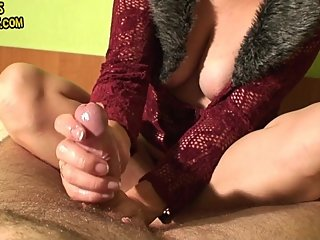 Maya CFNM edging with 2 cumshots