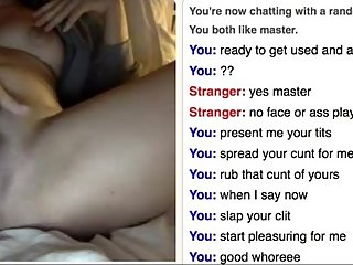 milf cums hard on omegle for daddy