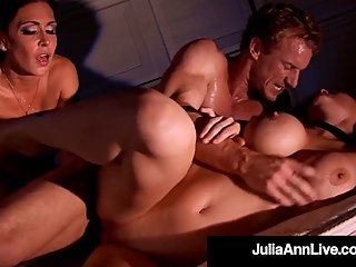 Confused Cougars Julia Ann & Jessica Jaymes Tied & Fucked!