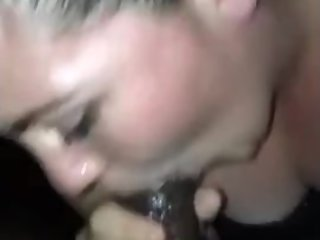 White Girl Suck BBC Sloppy