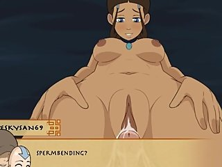 Four Element Trainer [v.0.8.5b] Part 44 Day With Katara By LoveSkySan69