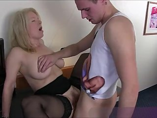 german mother caught son at masturbate and fuck him