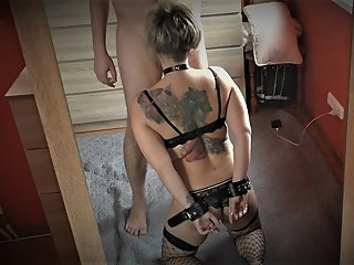 BONNIE WILD SEX DIARY 7 - MILF TRYING BONDAGE SEX