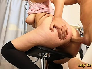 Fuck Anal Teen Fat Bitch With Big Ass - Moans Of Pain And Suffering
