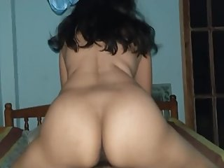 Hot MILF ride Cowgirl on our date