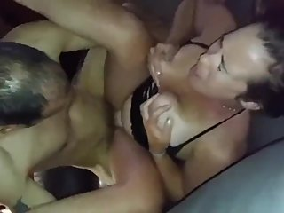 Husband films his sexy wife gets hard fucked by her best friend