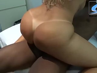 Wife records video fucking with young black cock to show her husband!Part2