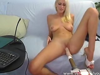 Addison O'Riley live sex machine webcam, great boobs!