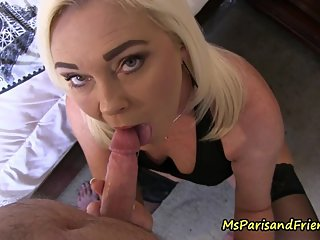 Stepson Comes Home to Give Mommy a Creampie