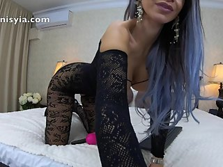 maid cumming hard for you - anisyia livejasmin in 4k
