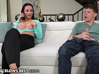 MommyBlowsBest - Russian Stepmother Swallows Son Whole
